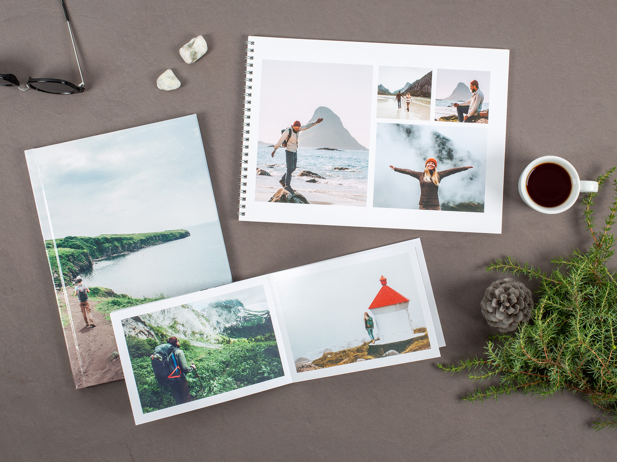 Книга в картинках: история вашего путешествия